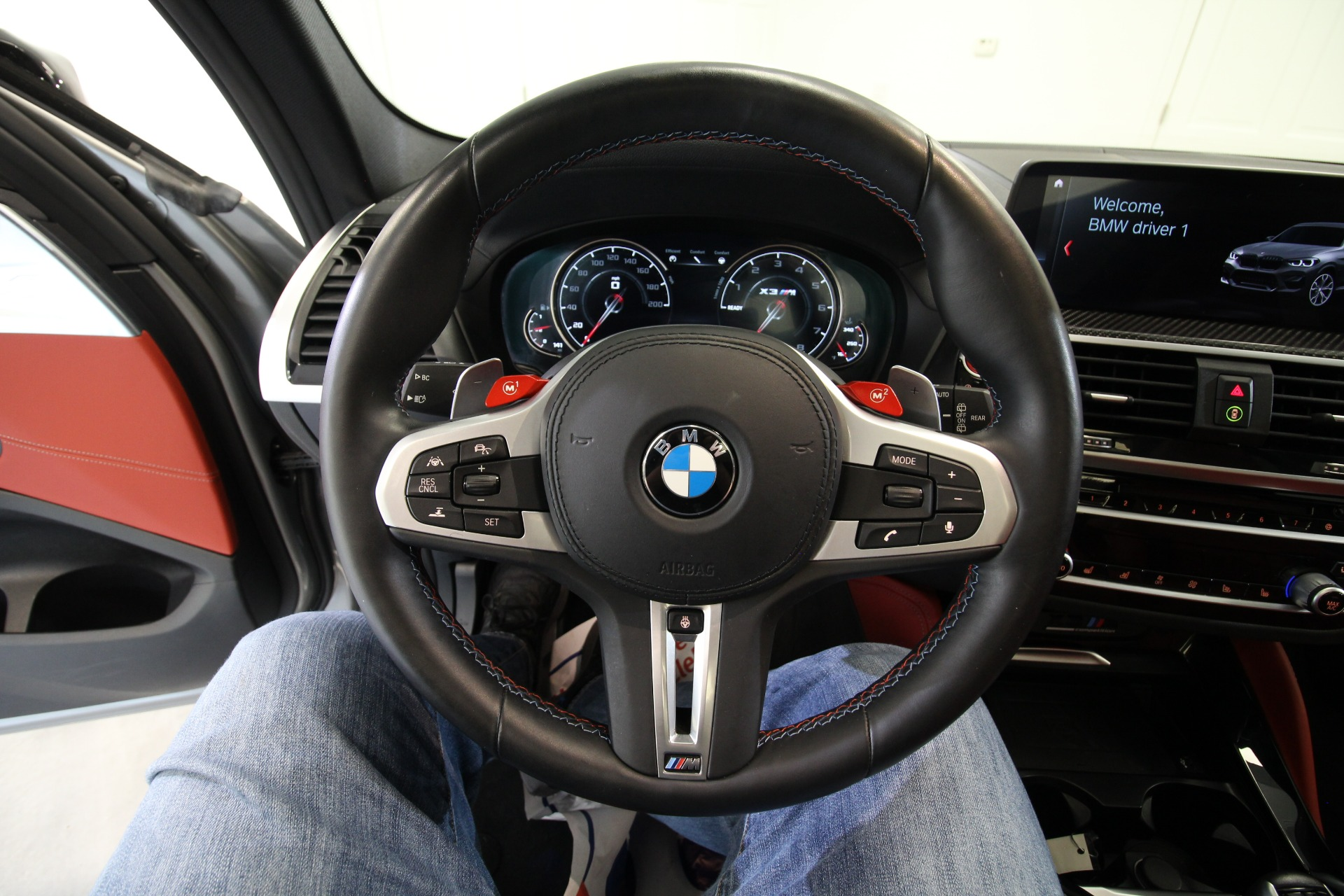 Used 2020 BMW X3 M Competition LIKE NEW RARE COLOR GREY OVER ORANGE LOADED EXEC AND DRIV ASSIS   Albany, NY