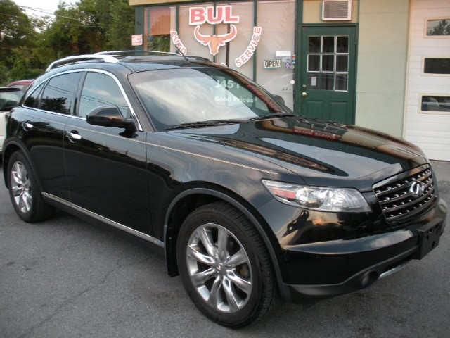 2007 infiniti fx45 technology 20in wheels navigation stock. Black Bedroom Furniture Sets. Home Design Ideas