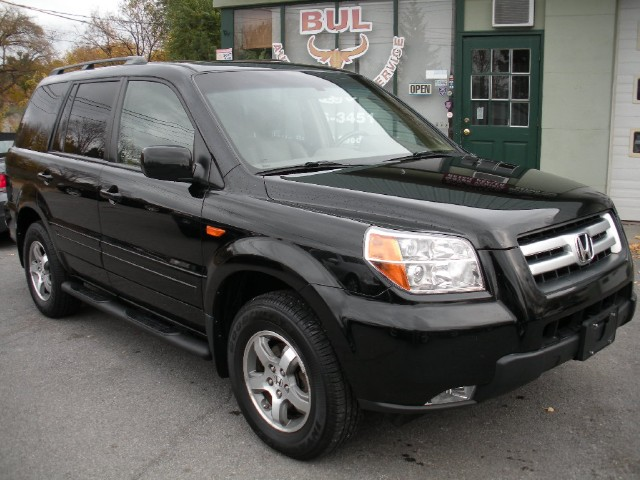 Used 2007 Honda Pilot EX L AWD BLACK ON BROWN,LOCAL NU CAR TRADE