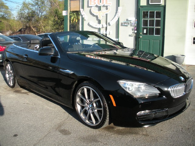 2012 bmw 6 series 650i convertible triple black loaded msrp was 98 595 20 inch wheels stock. Black Bedroom Furniture Sets. Home Design Ideas