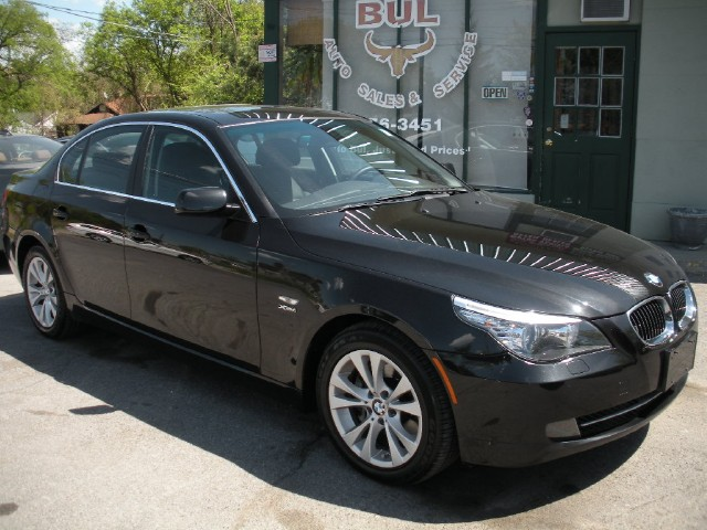 2009 bmw 5 series 535xi 535i xdrive awd black on black. Black Bedroom Furniture Sets. Home Design Ideas