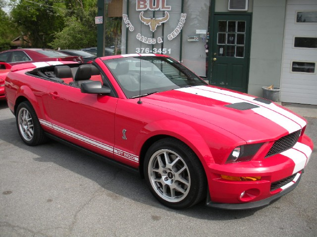 Used 2007 Ford Shelby GT500 GT500 CONVERTIBLE,6 SPEED MANUAL,1 OWNER TRADE-IN,SUPERB,SHAKER 1000 | Albany, NY