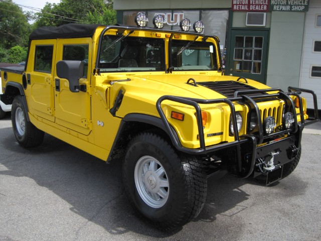 2002 hummer h1 open top like new superb condition many upgrades winch carbon fiber 2nd top stock. Black Bedroom Furniture Sets. Home Design Ideas