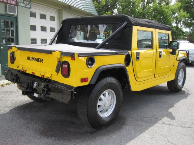 Used 2002 HUMMER H1 Open Top LIKE NEW,SUPERB CONDITION,MANY UPGRADES,WINCH,CARBON FIBER,2ND TOP | Albany, NY
