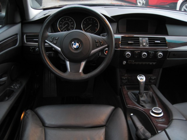 2008 bmw 5 series 535i sedan 6 speed manual transmission photo.