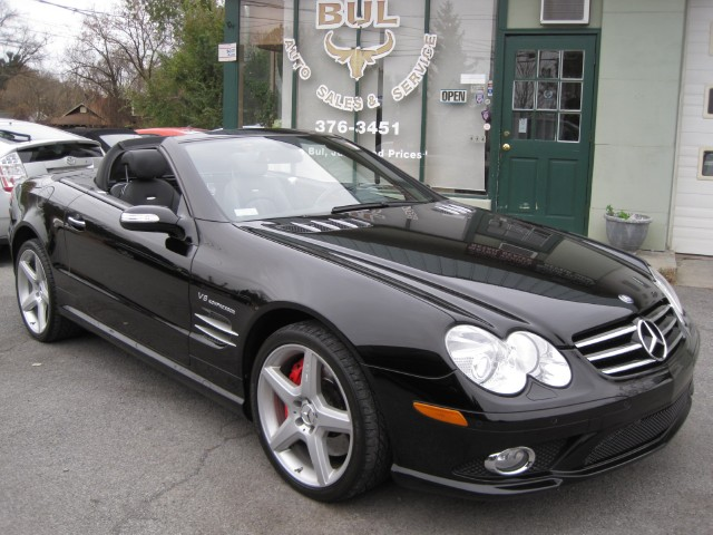 2008 mercedes benz sl class sl55 amg super clean black on. Black Bedroom Furniture Sets. Home Design Ideas