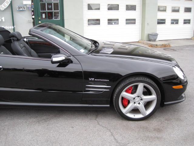2008 Mercedes Benz Sl Class Sl55 Amg Super Clean Black On