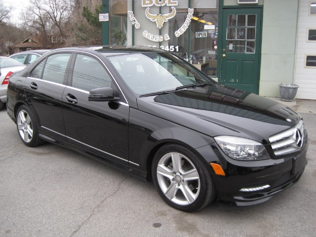 2011 Mercedes-Benz C-Class C300 4MATIC Sport AWD,ONE OWNER TRADE-IN,BLACK ON BLACK Stock # 14050 ...