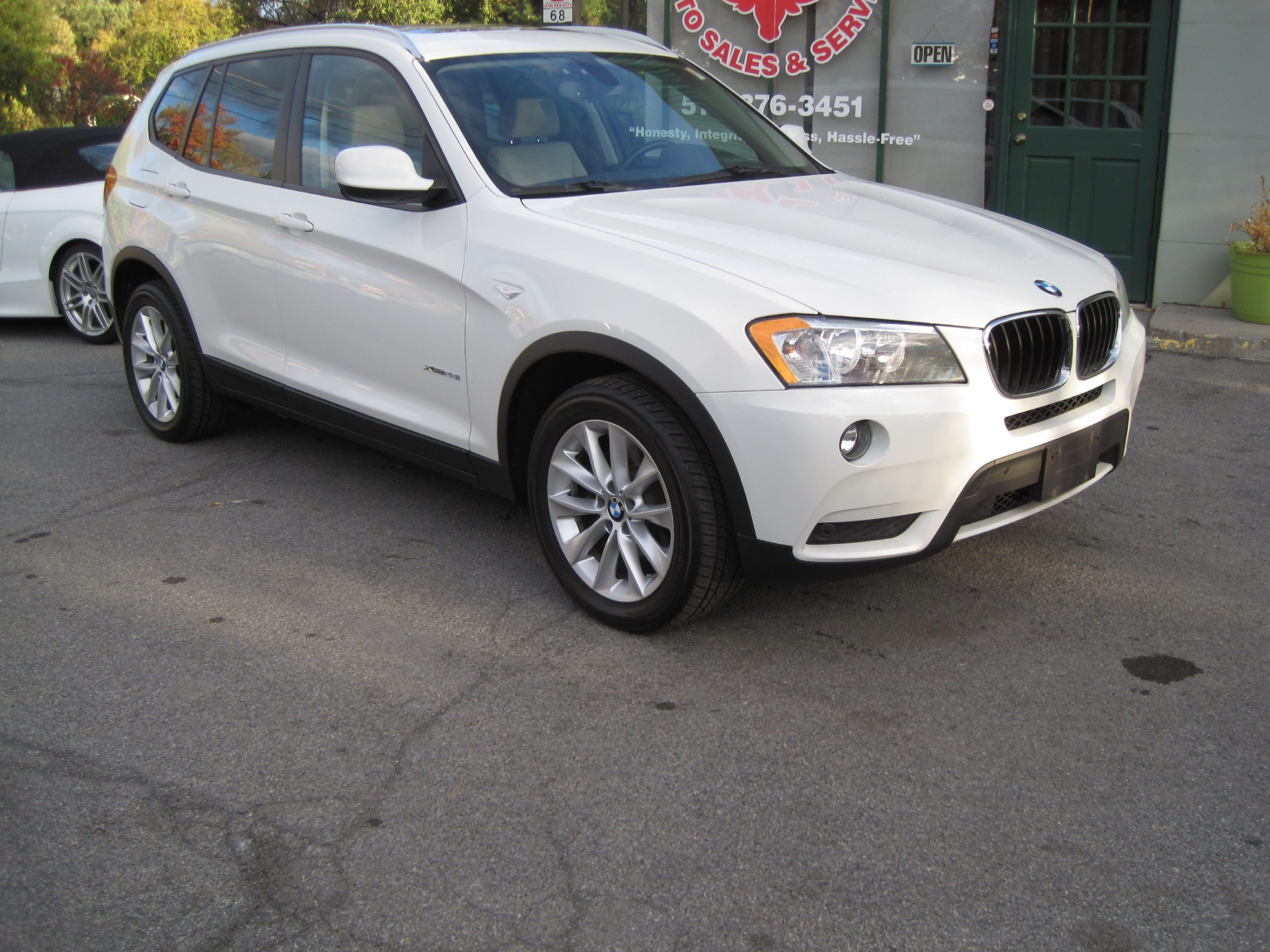 2013 bmw x3 xdrive28i awd premium technology heated seats satelite radio navigation stock. Black Bedroom Furniture Sets. Home Design Ideas