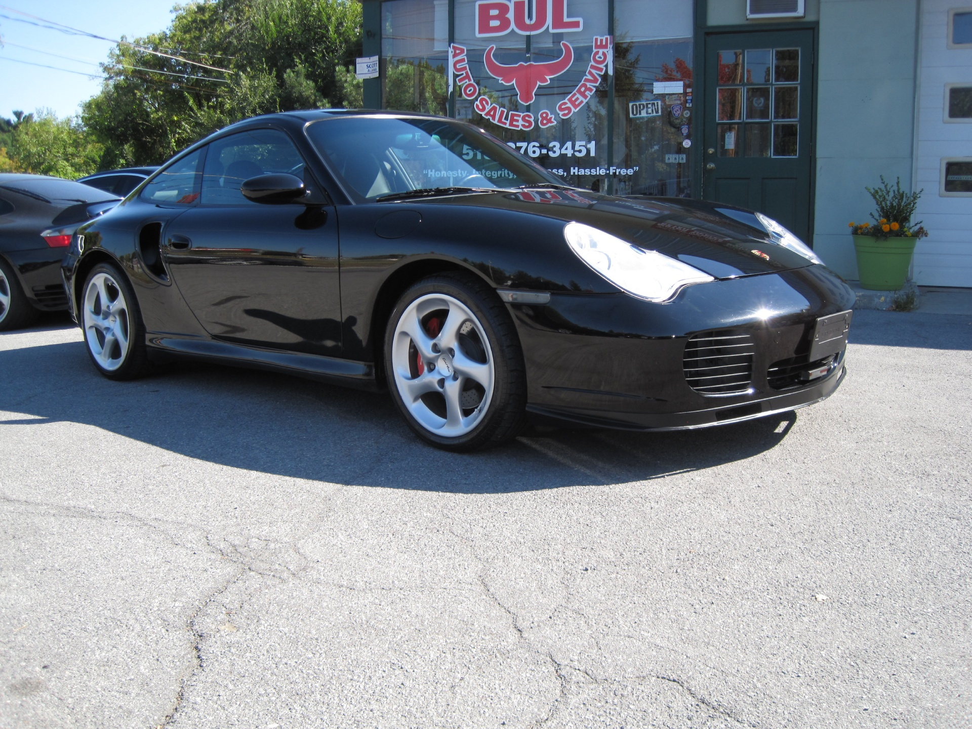2002 porsche 911 turbo coupe just took in on trade new gt2 clutch new turbos stock 14174 for. Black Bedroom Furniture Sets. Home Design Ideas
