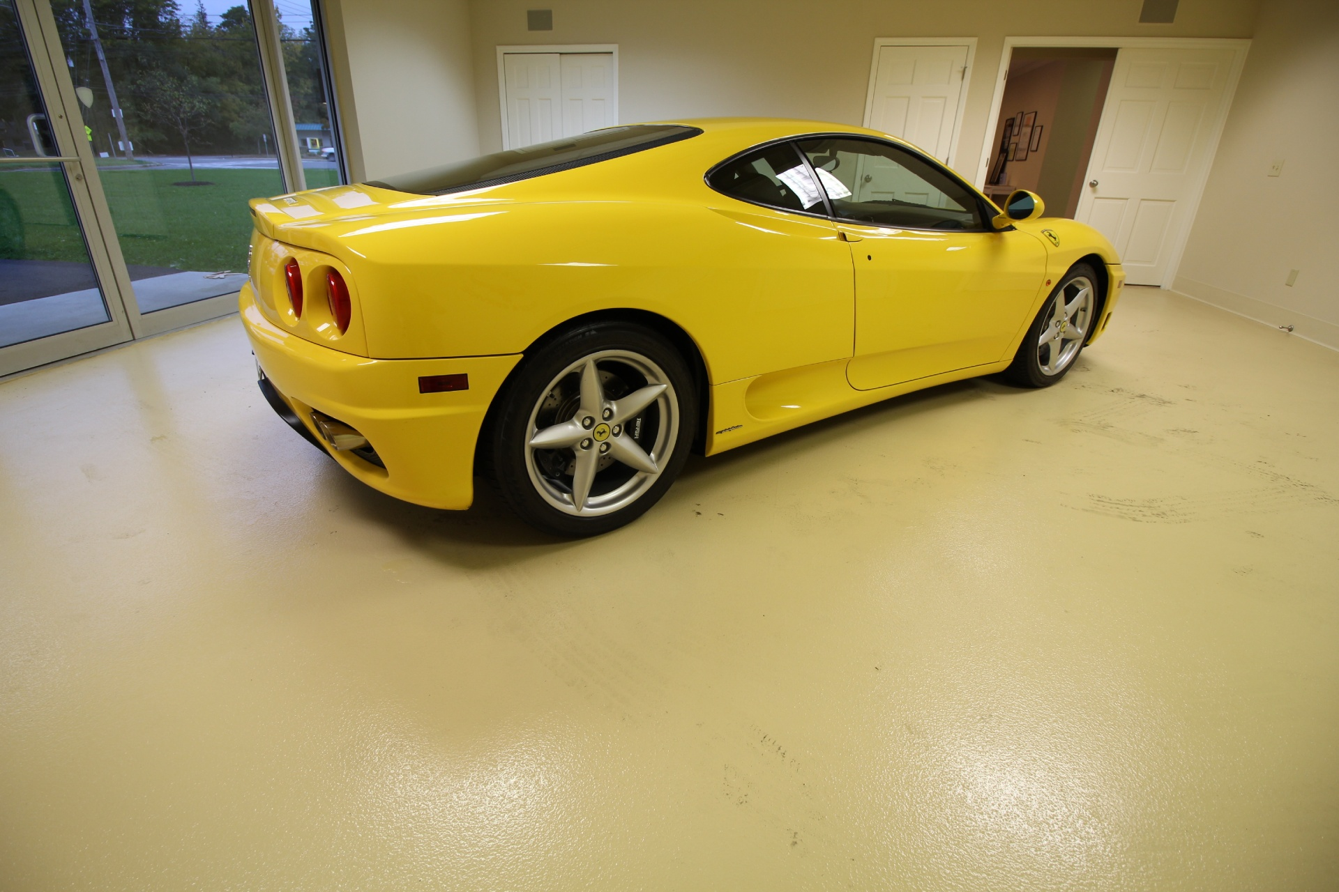 2001 ferrari 360 modena modena f1 stock 16266 for sale. Black Bedroom Furniture Sets. Home Design Ideas