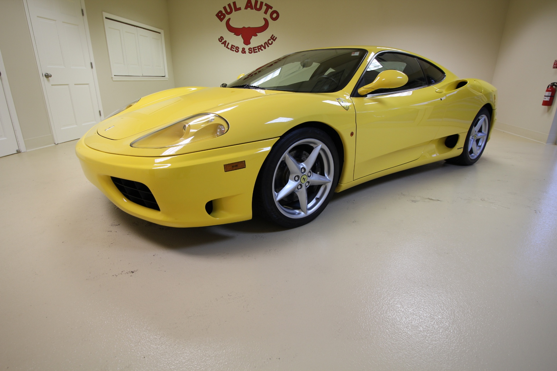 2001 Ferrari 360 Modena Modena F1 Stock 16266 For Sale
