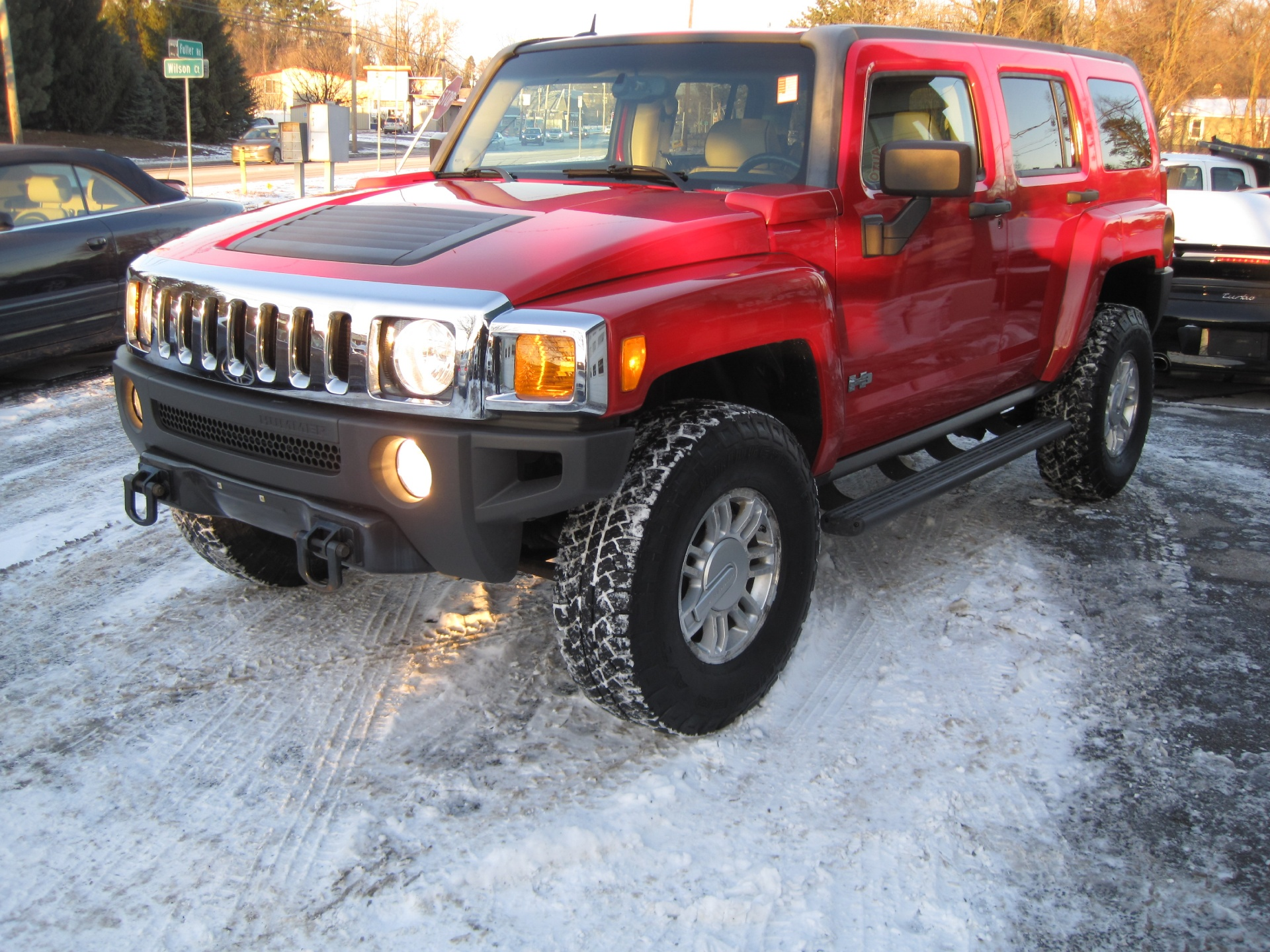 2006 hummer h3 rare 6 speed manual 4wd leather heated. Black Bedroom Furniture Sets. Home Design Ideas