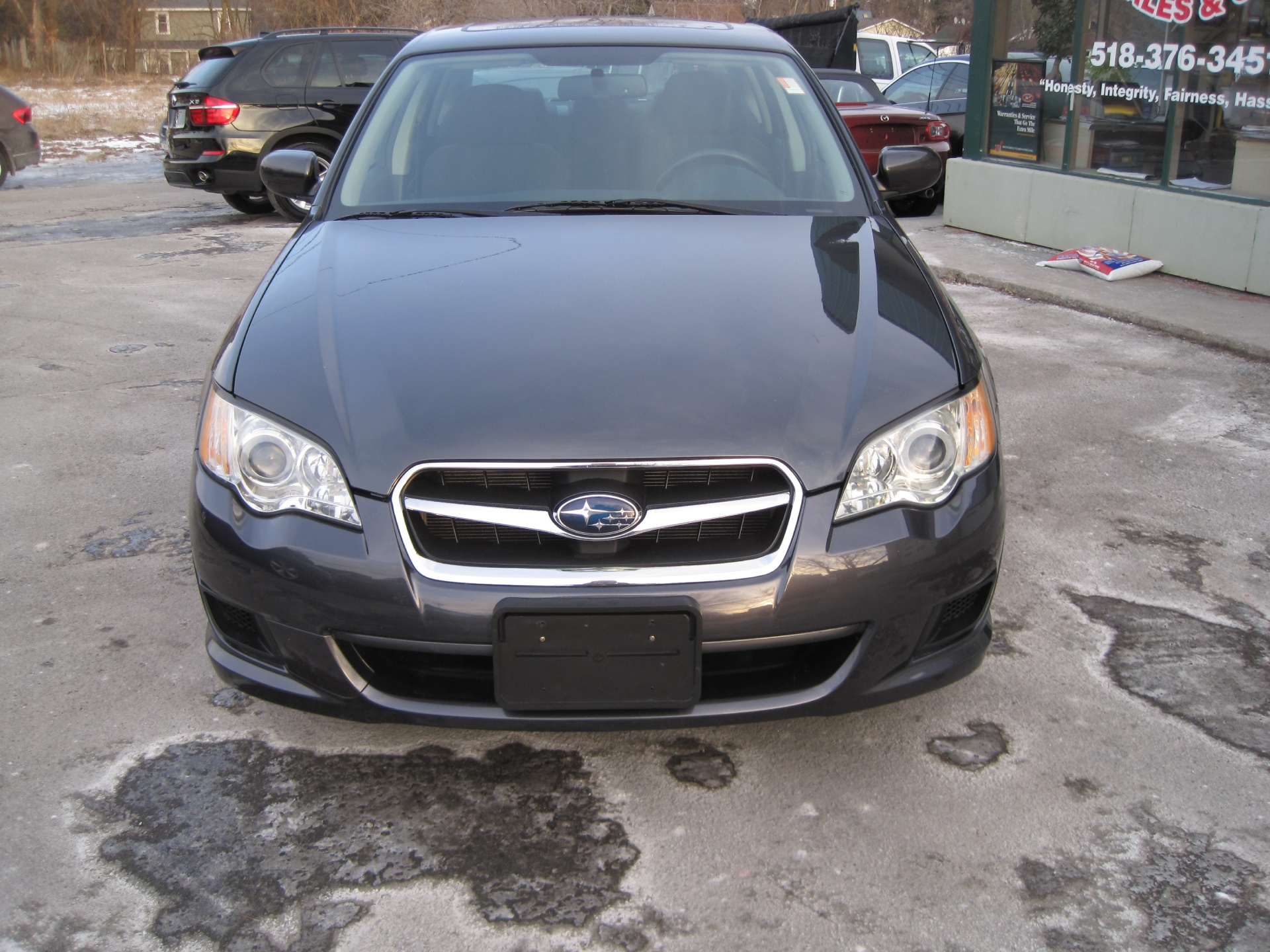 Subaru Legacy: Driver's seat
