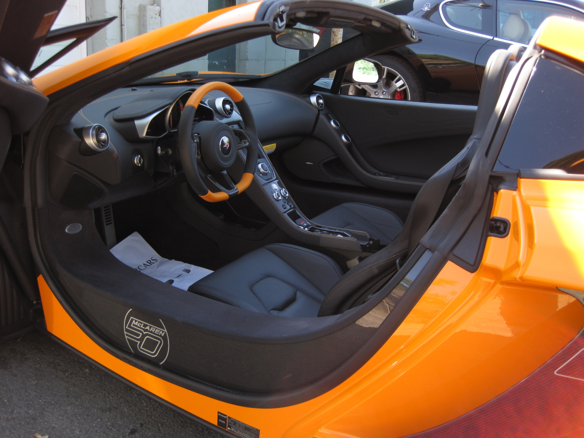 Used 2014 McLaren MP4 12C Spider 50th ANNIVERSARY EDITION,MSRP OF WHOPPING  332,390$