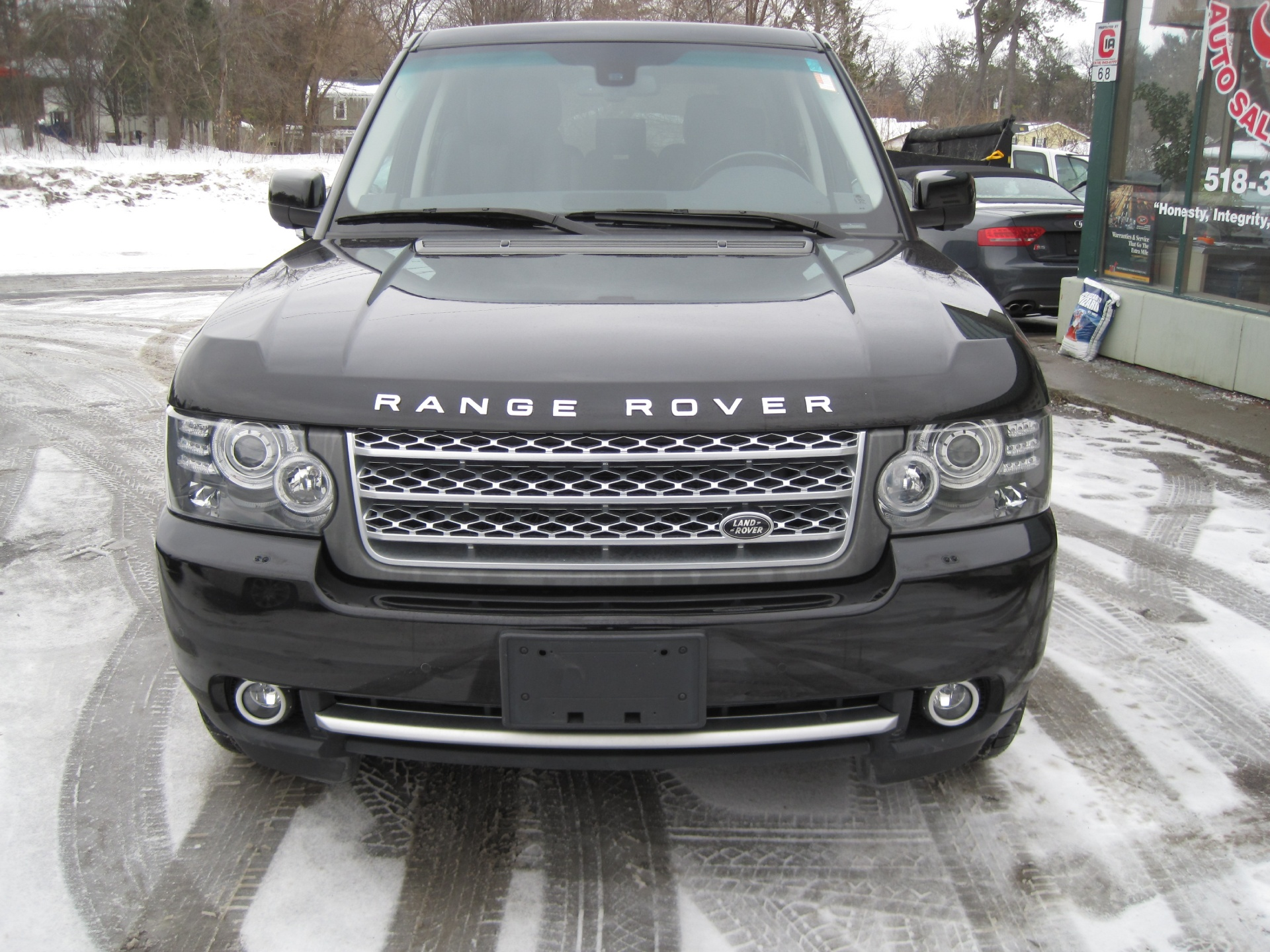 2010 land rover range rover supercharged 1 owner full history with service records stock 15030. Black Bedroom Furniture Sets. Home Design Ideas