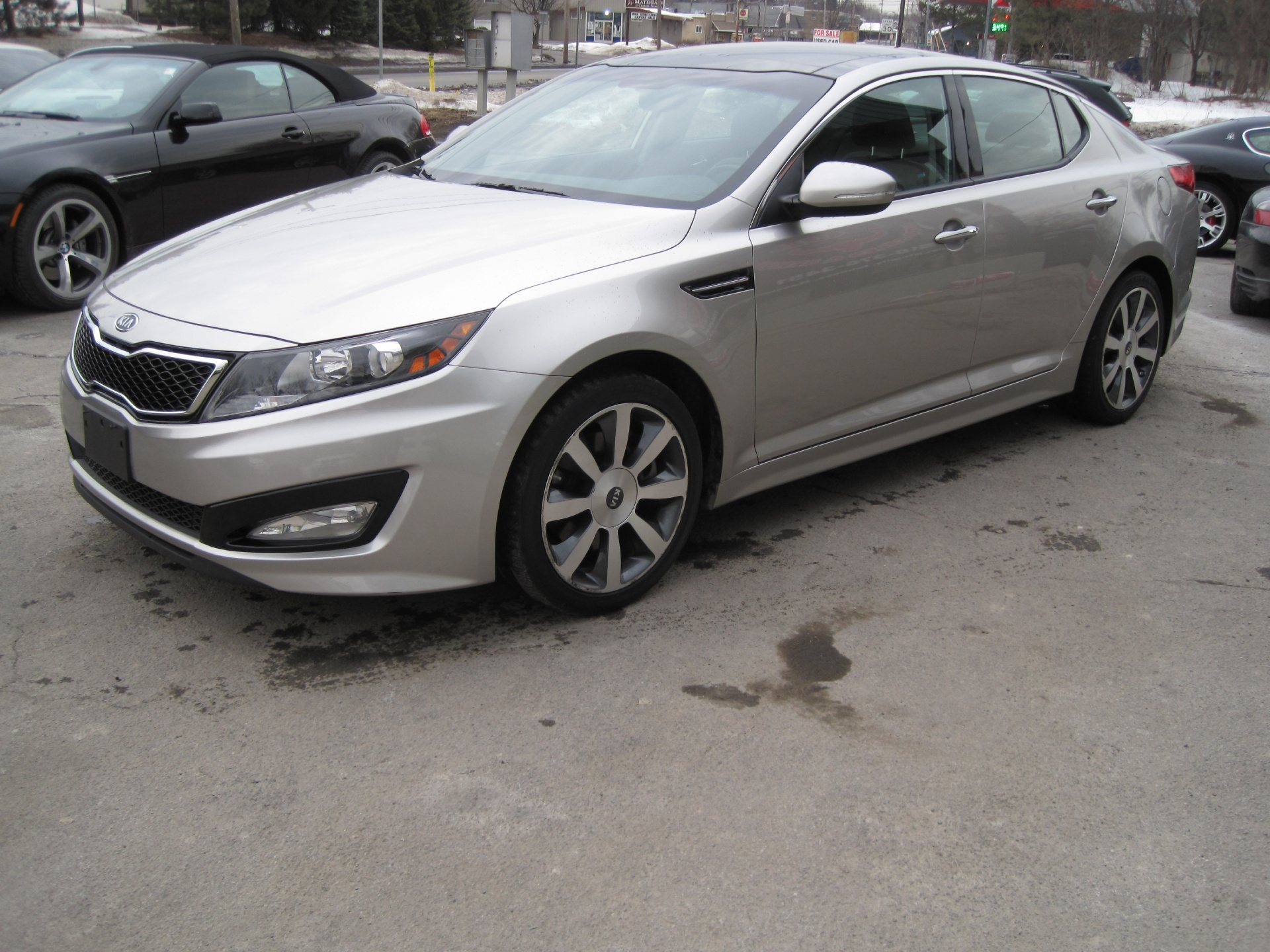 2011 Kia Optima Sx Turbo1 Ownerpanoramic Roofheatd And Cooled My Used