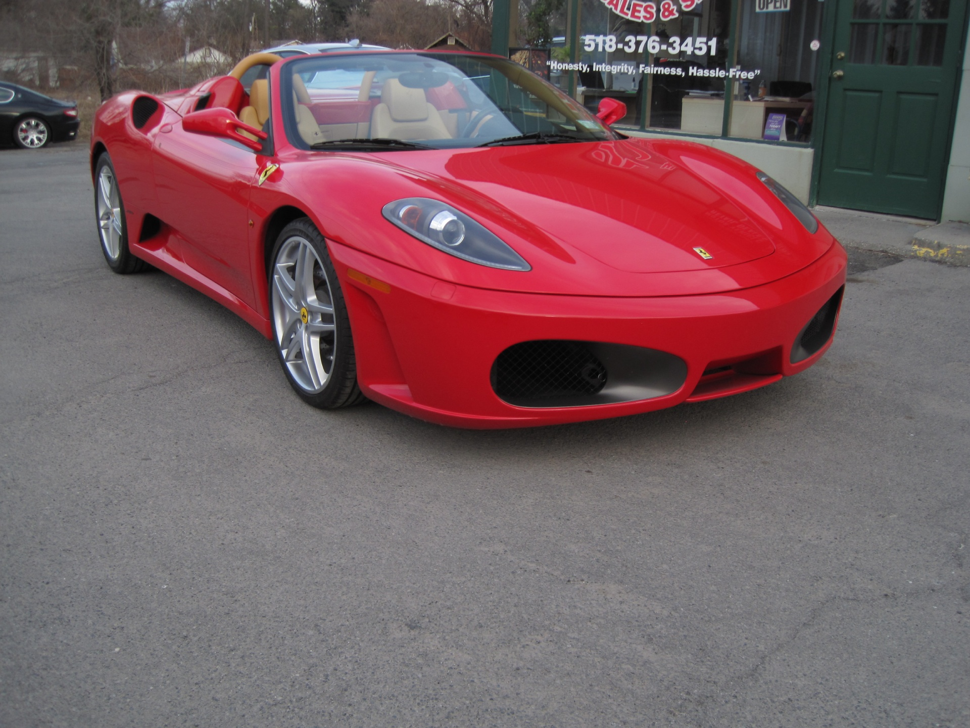 Used 2007 Ferrari F430 F1 Spider LOADED WITH OPTIONS,SHIELDS,RED CALIPERS,PWR DAYTONAS,CARBON FIBE | Albany, NY