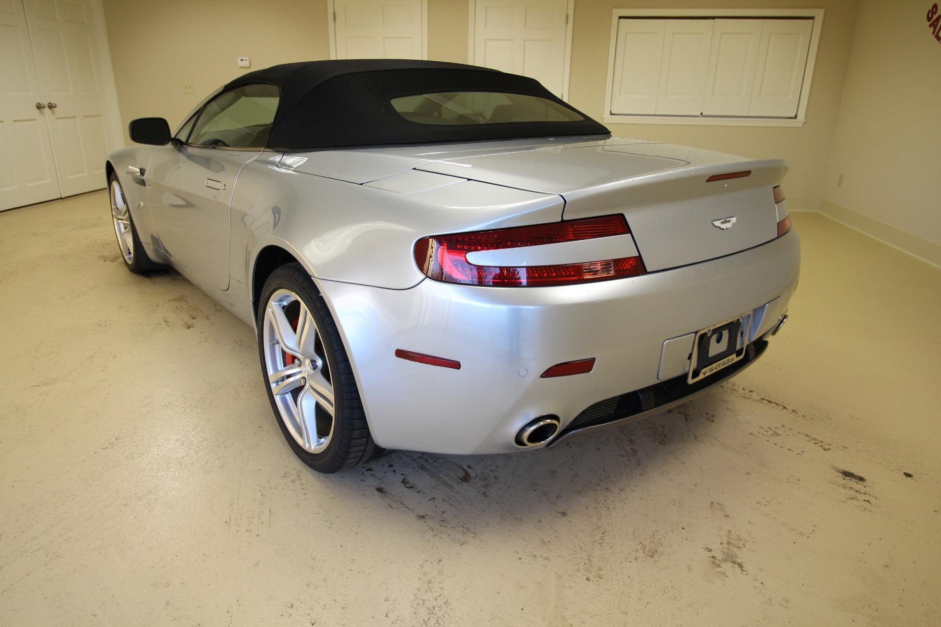2009 Aston Martin V8 Vantage Roadster Convertible Rare 6