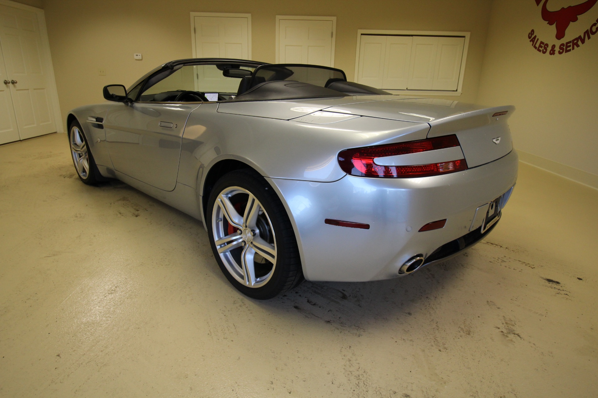 BMW Albany Ny >> 2009 Aston Martin V8 Vantage Roadster CONVERTIBLE,RARE 6 SPEED MANUAL,NAVIGATION,RED CALIPERS ...