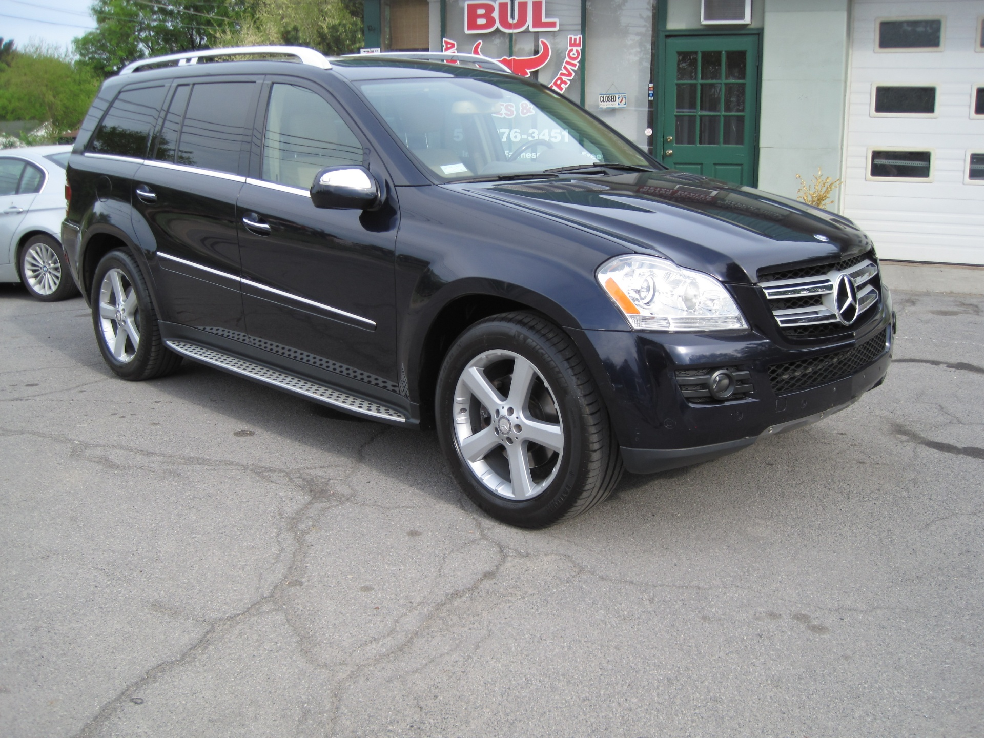 2009 mercedes benz gl class gl450 4matic awd loaded rear for Used mercedes benz gl450 4matic