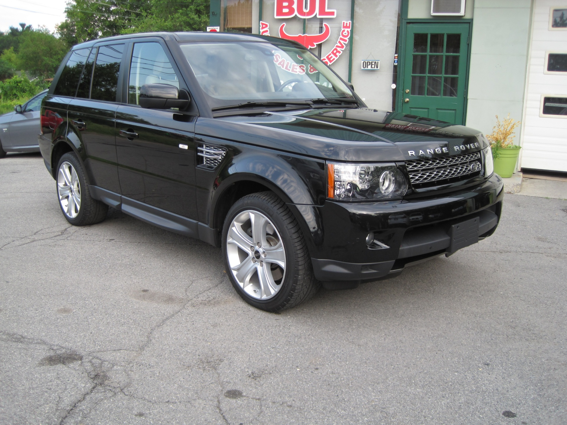 2012 land rover range rover sport hse lux santorini black. Black Bedroom Furniture Sets. Home Design Ideas