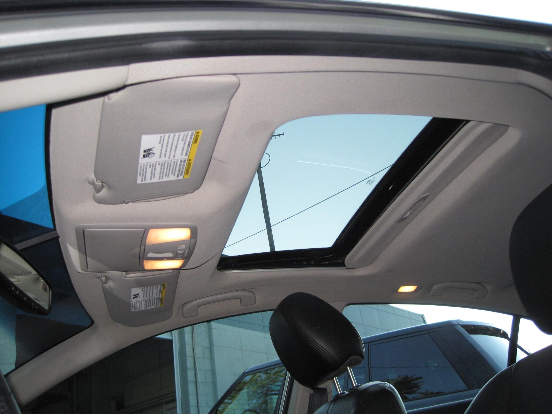Nissan Altima: Moonroof