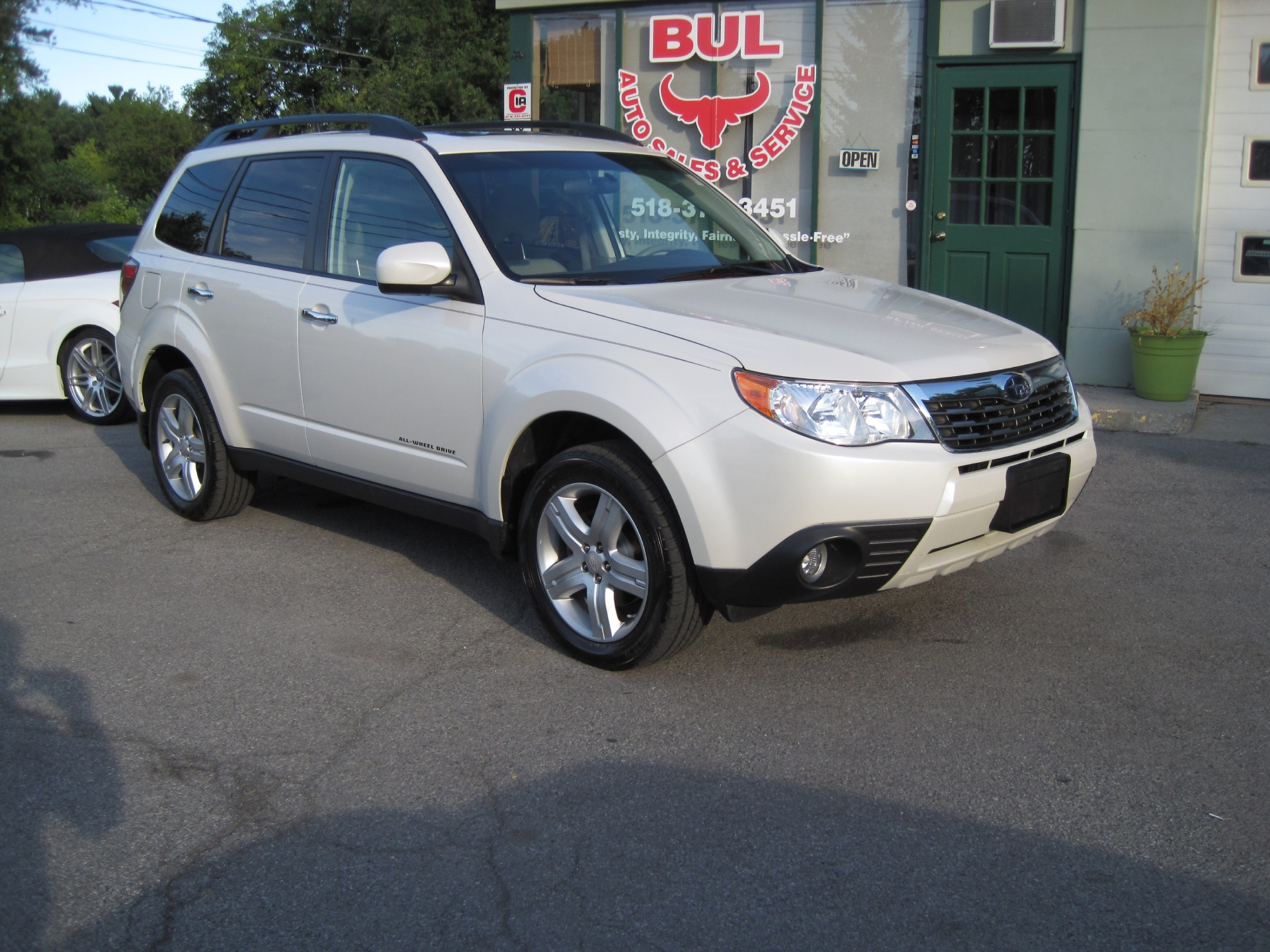2010 Subaru Forester 25x Limited Super Cleanwhiteleathersunroof Heated Seat Switch Wiring Used