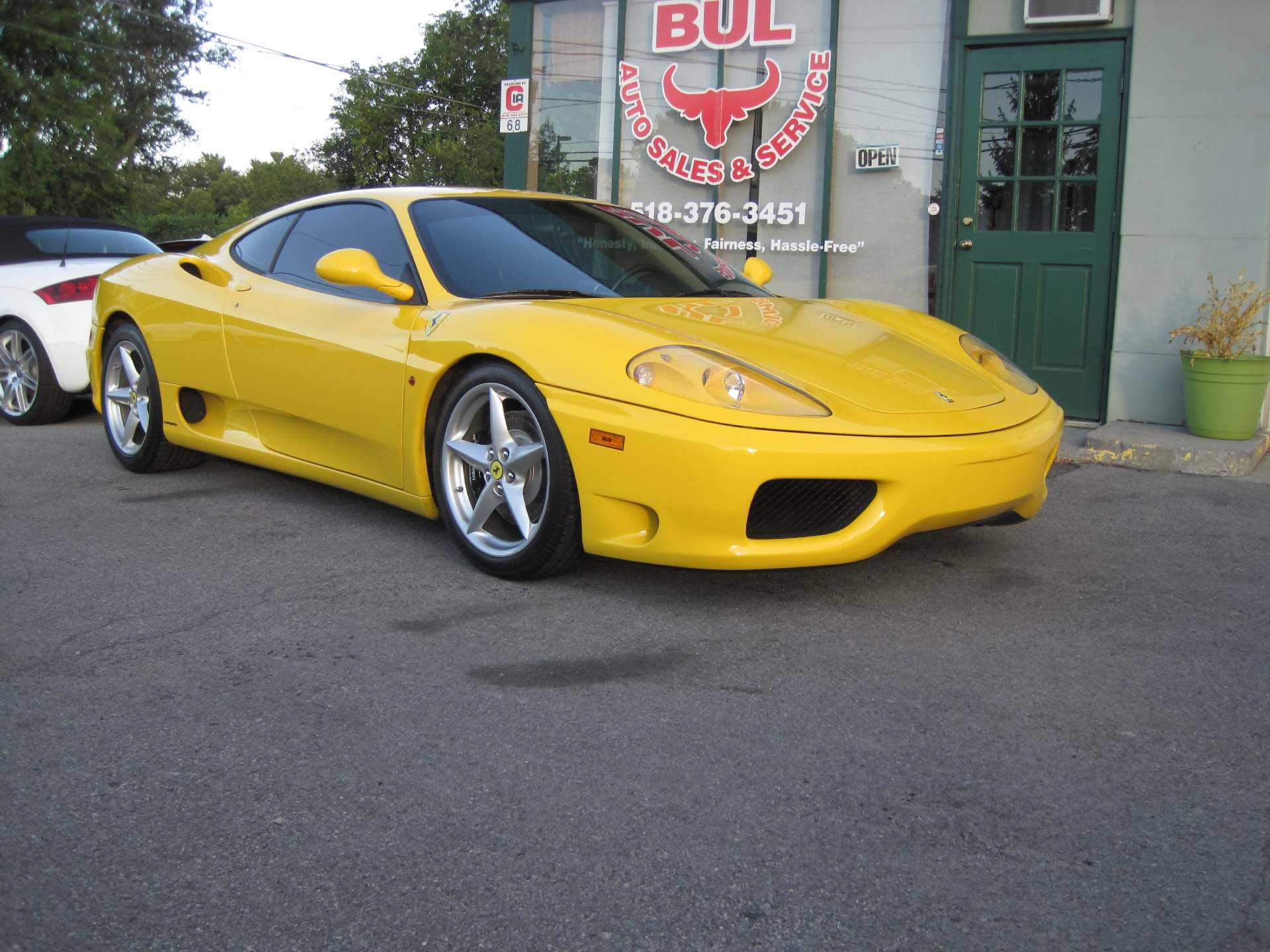 Used 2003 Ferrari 360 Modena RARE 6 SPEED MANUAL COUPE,SUPERB  CONDITION,SUPER NICE