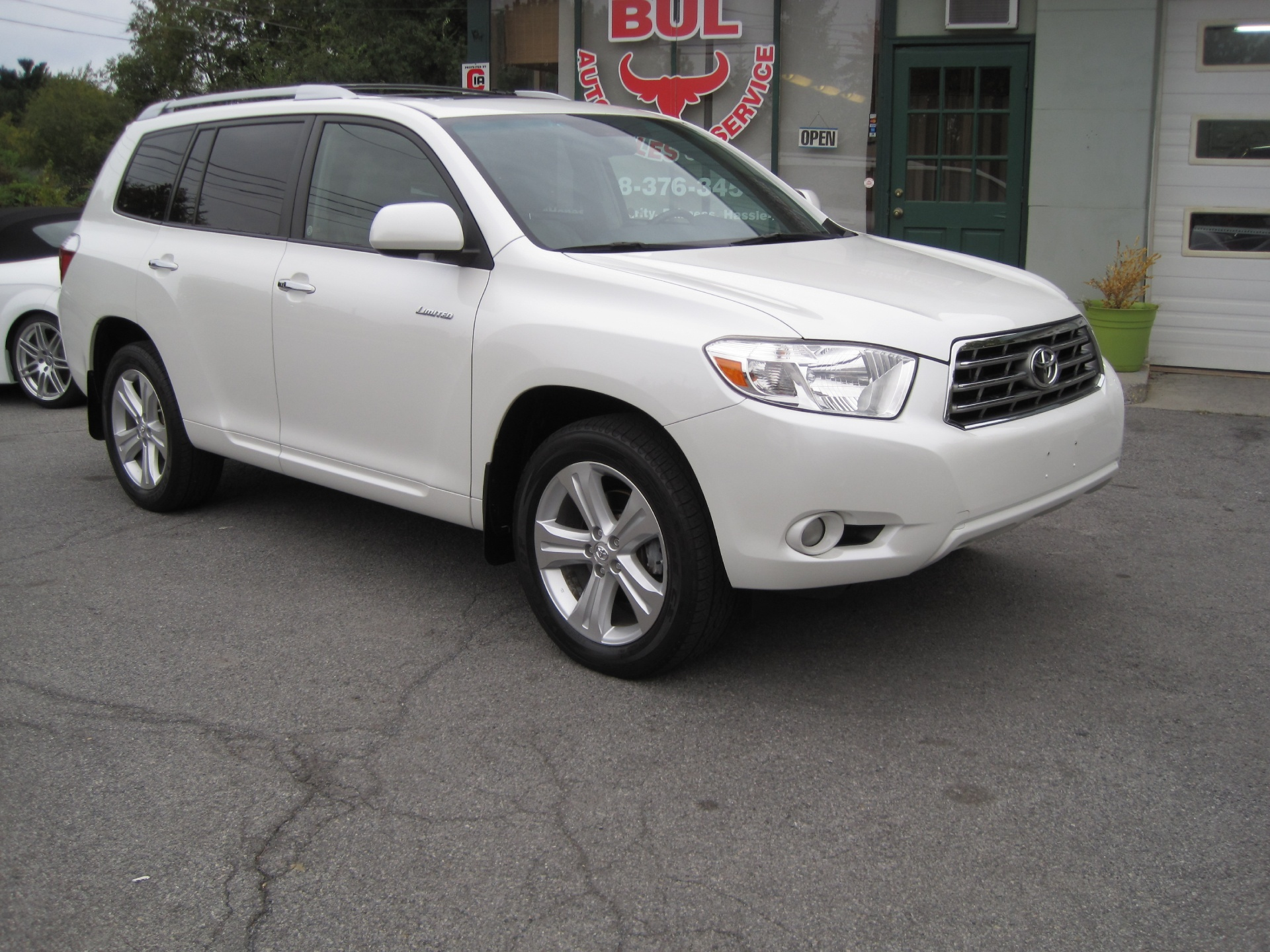 2009 toyota highlander limited 4wd 4x4 superb condition leather backup camera heated seats. Black Bedroom Furniture Sets. Home Design Ideas
