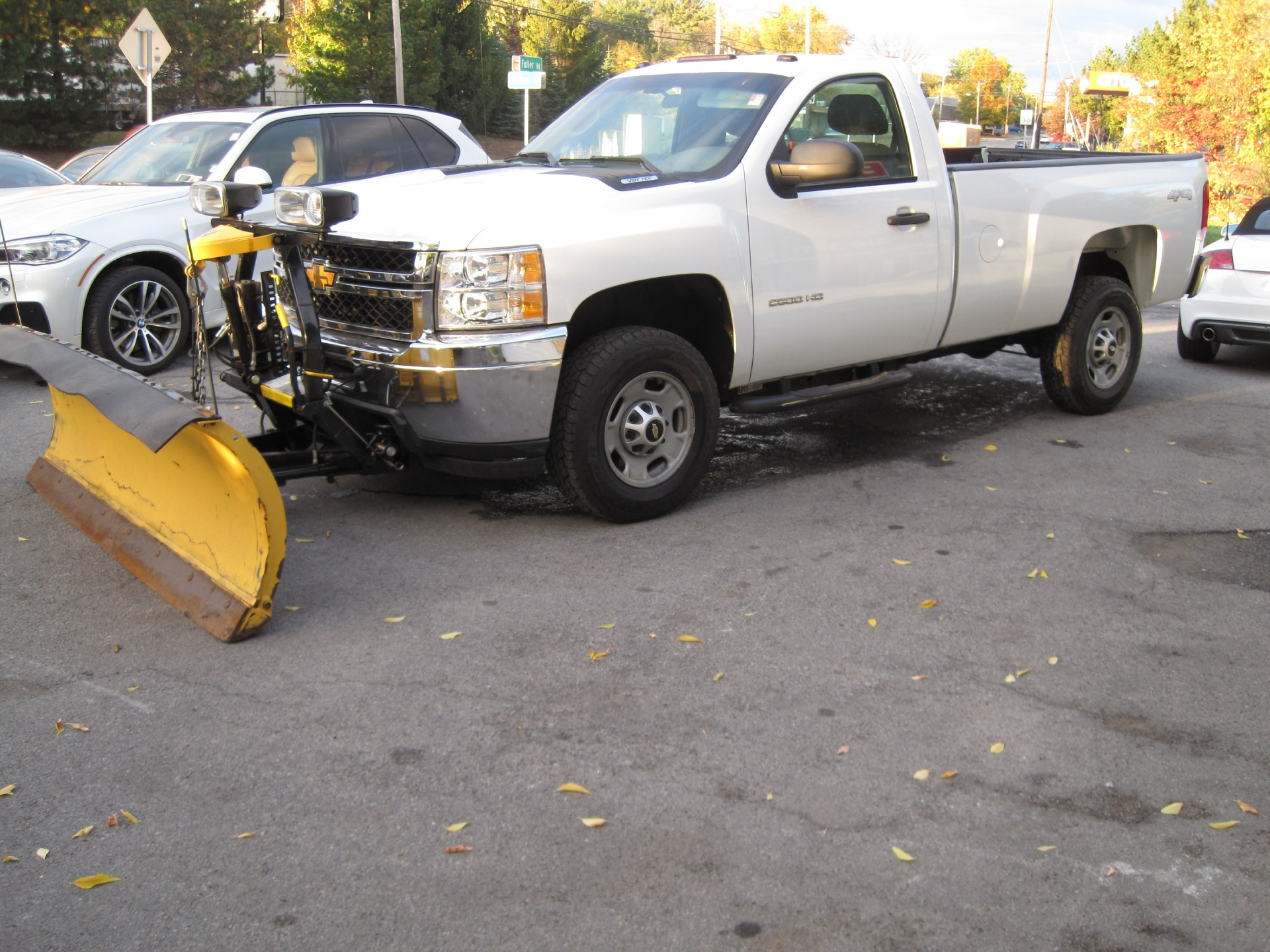 2013 Chevrolet Silverado 2500hd Work Truck 2500 Hd 4x4 8ft Fisher Plow Wiring Harness Used Albany