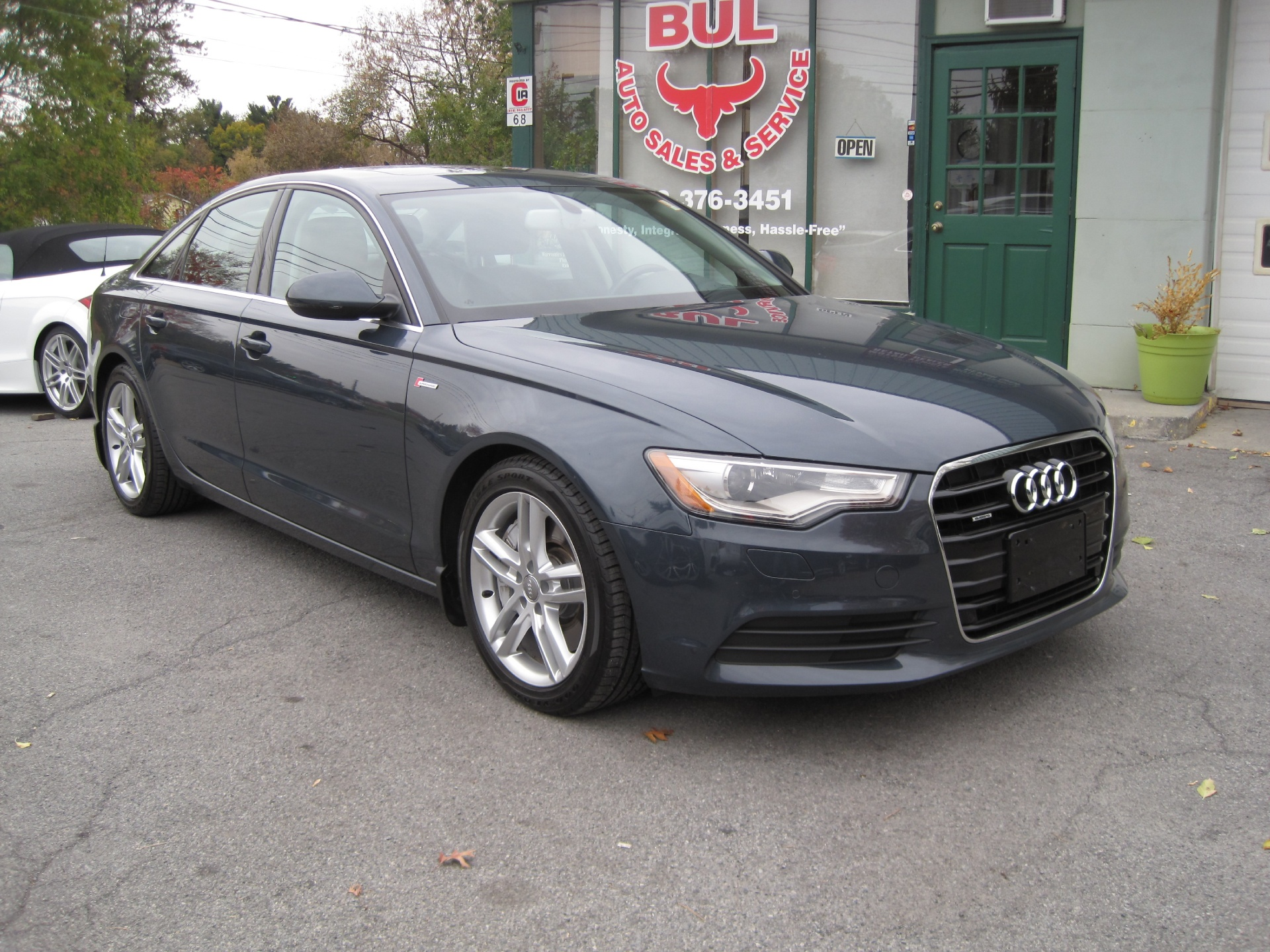 2012 audi a6 3 0t quattro premium plus loaded with options super clean stock 15153 for sale. Black Bedroom Furniture Sets. Home Design Ideas