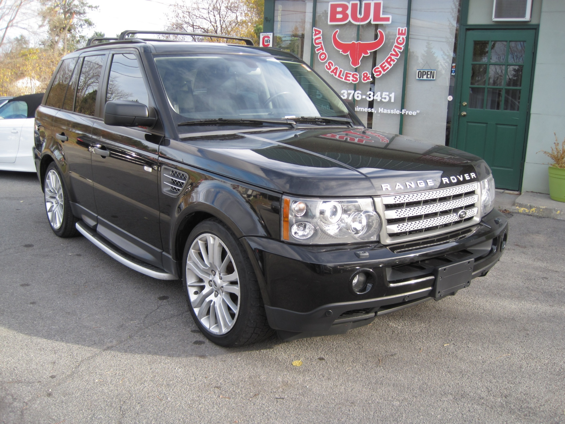 sale infinity used landrover car for leather ivory in range land model sport rover hse
