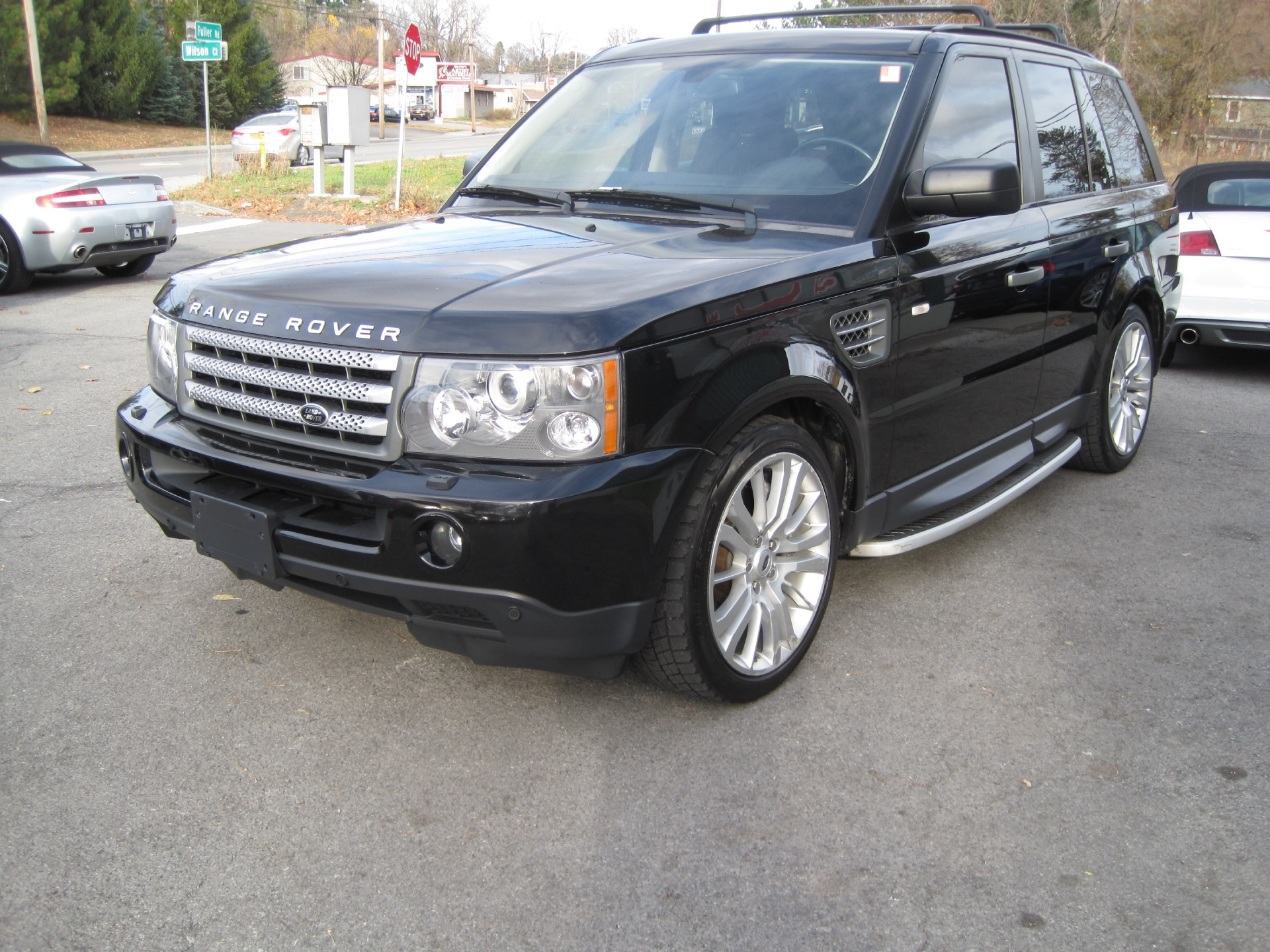 2009 land rover range rover sport supercharged very clean inside and out low miles stock 15158. Black Bedroom Furniture Sets. Home Design Ideas