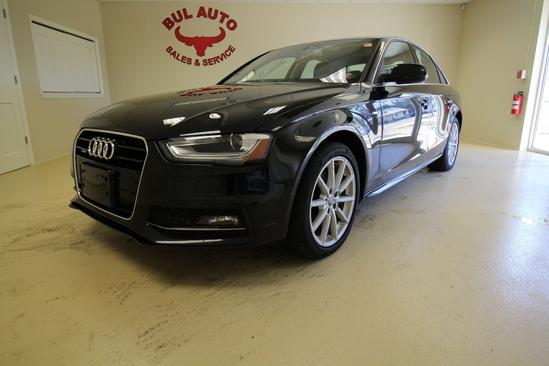 2014 audi a4 2 0t quattro premium plus super loaded with options navigation blind spot stock. Black Bedroom Furniture Sets. Home Design Ideas