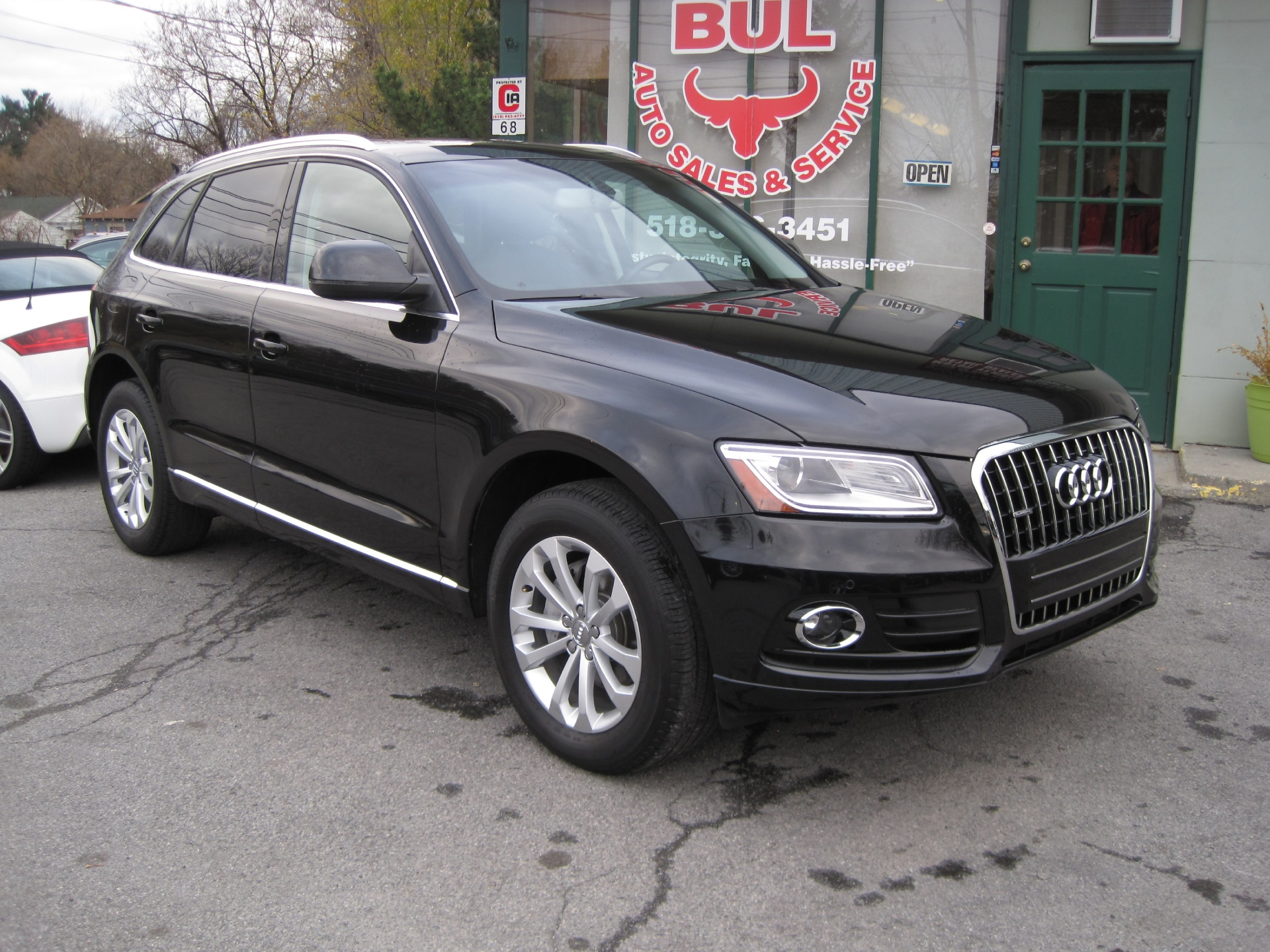 2014 audi q5 2 0t quattro premium plus loaded with options stock 15167 for sale near albany. Black Bedroom Furniture Sets. Home Design Ideas