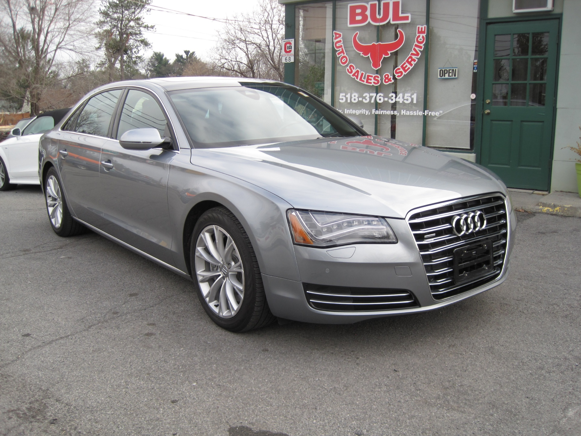 2011 audi a8 l quattro spotless superb condition like new. Black Bedroom Furniture Sets. Home Design Ideas