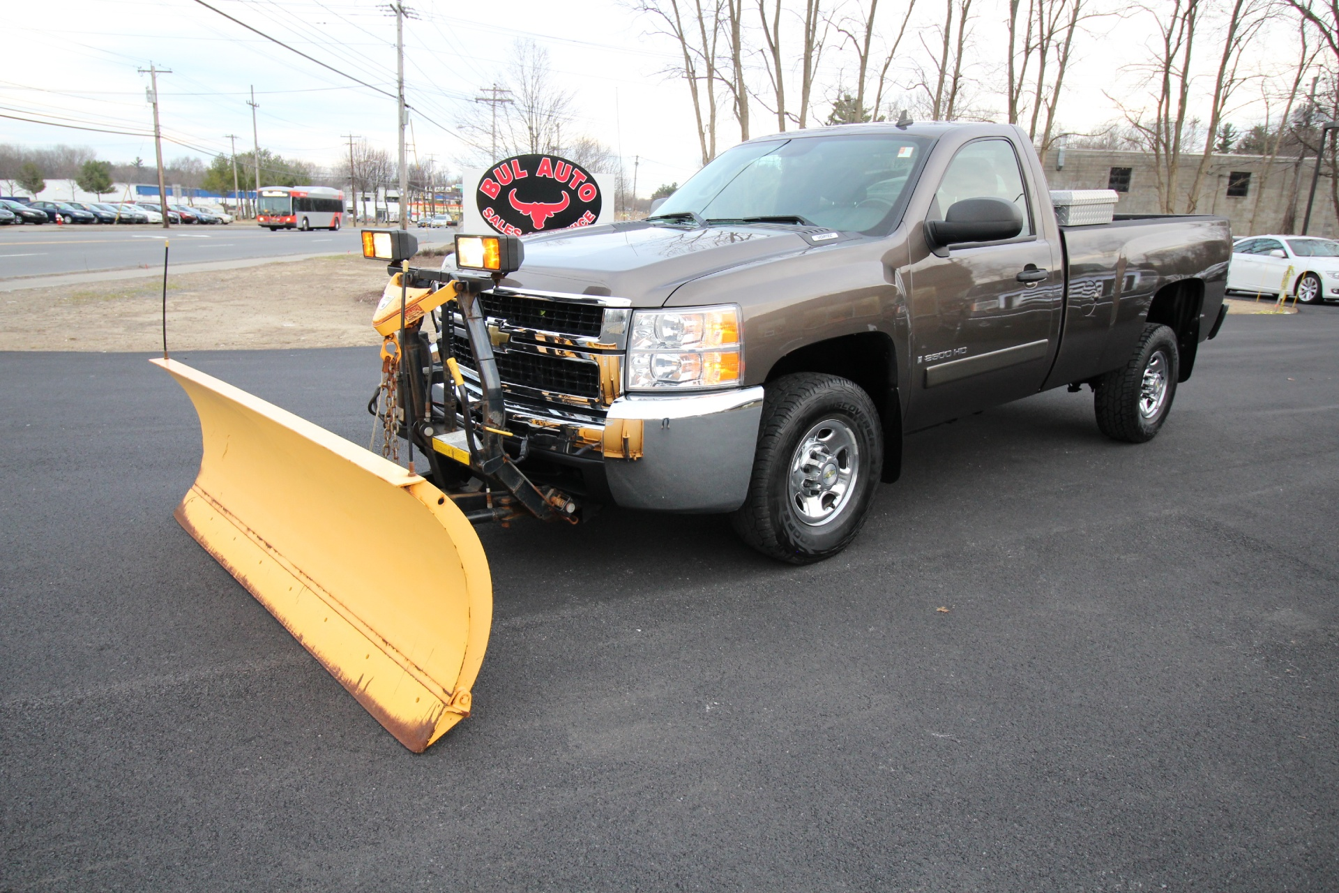 Used 2007 Chevrolet Silverado 2500HD LT1 4X4 4WD RARE REGULAR CAB,LOW MILES,FISHER PLOW | Albany, NY