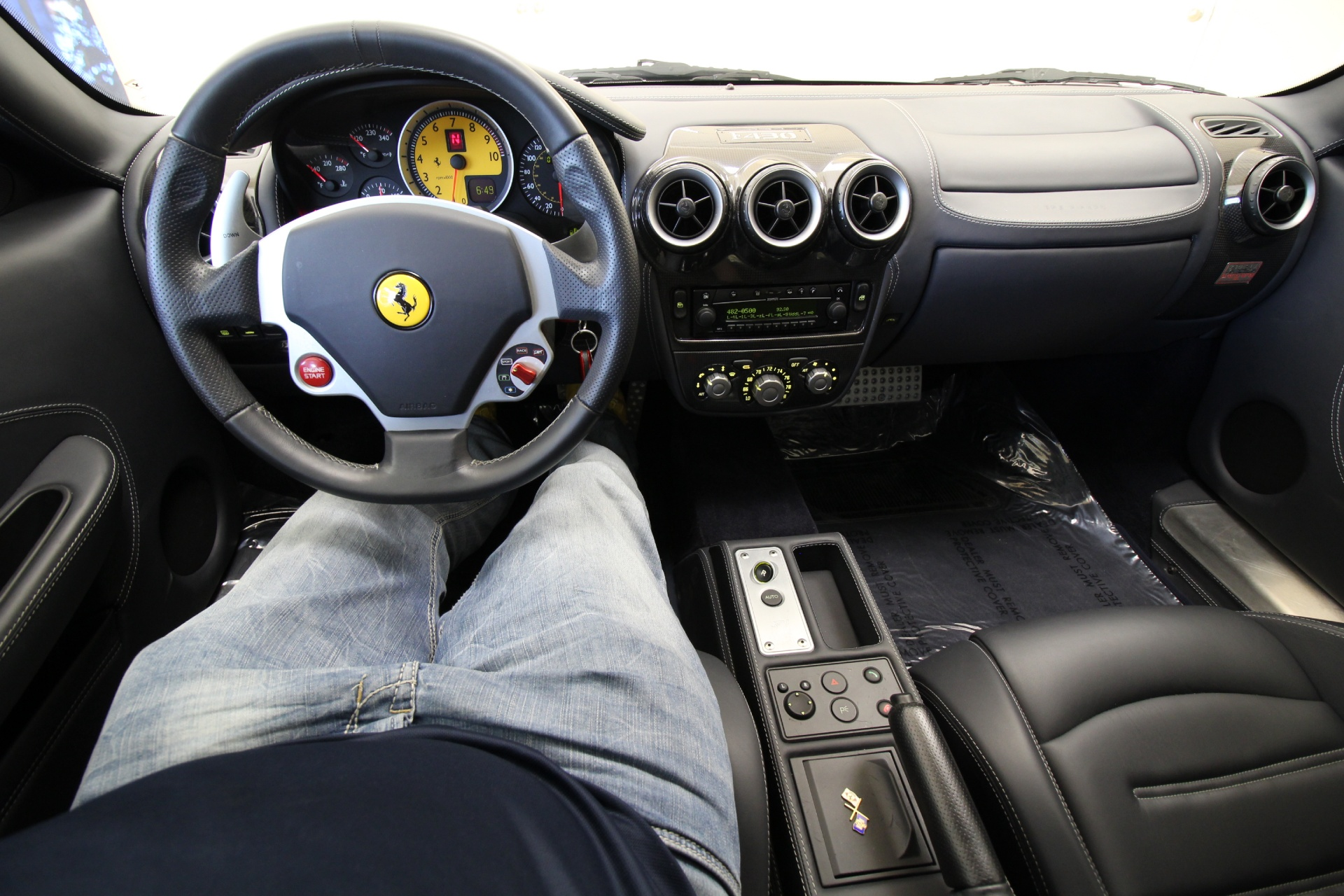 Used 2005 Ferrari F430 COUPE,SUPERB CONDITION,SHIELDS,RED CALIPERS,CHALLENGE RIMS | Albany, NY