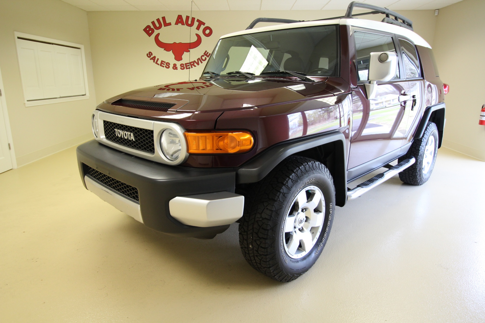 2007 Toyota FJ Cruiser 1 OWNER,SUPER CLEAN,LOW MILES,RARE MANUAL ...