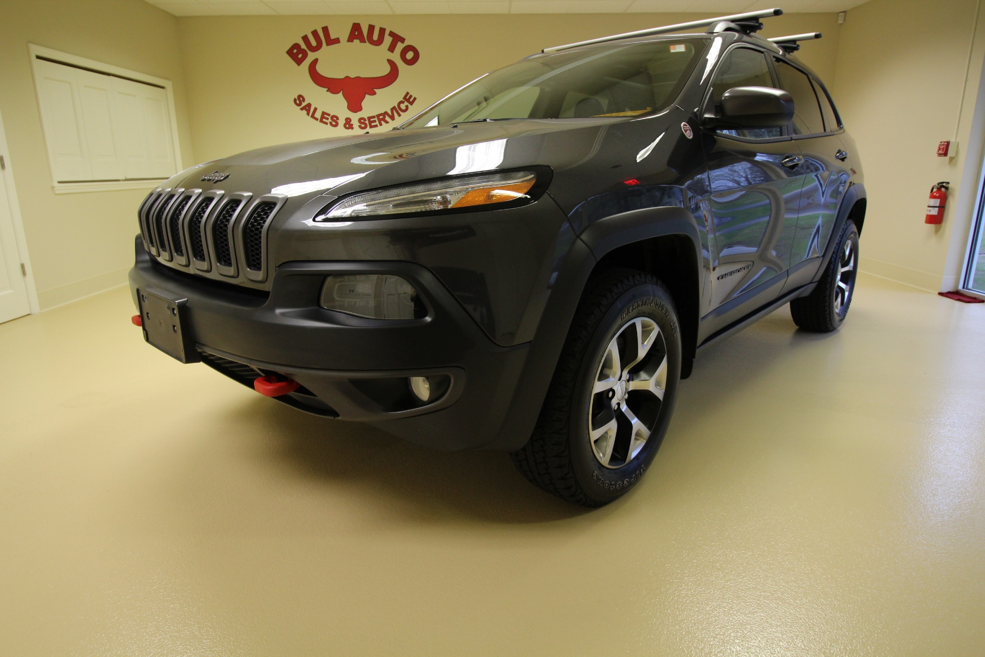 Used 2014 Jeep Cherokee Trailhawk 4WD LOADED WITH EVERY OPTION | Albany, NY