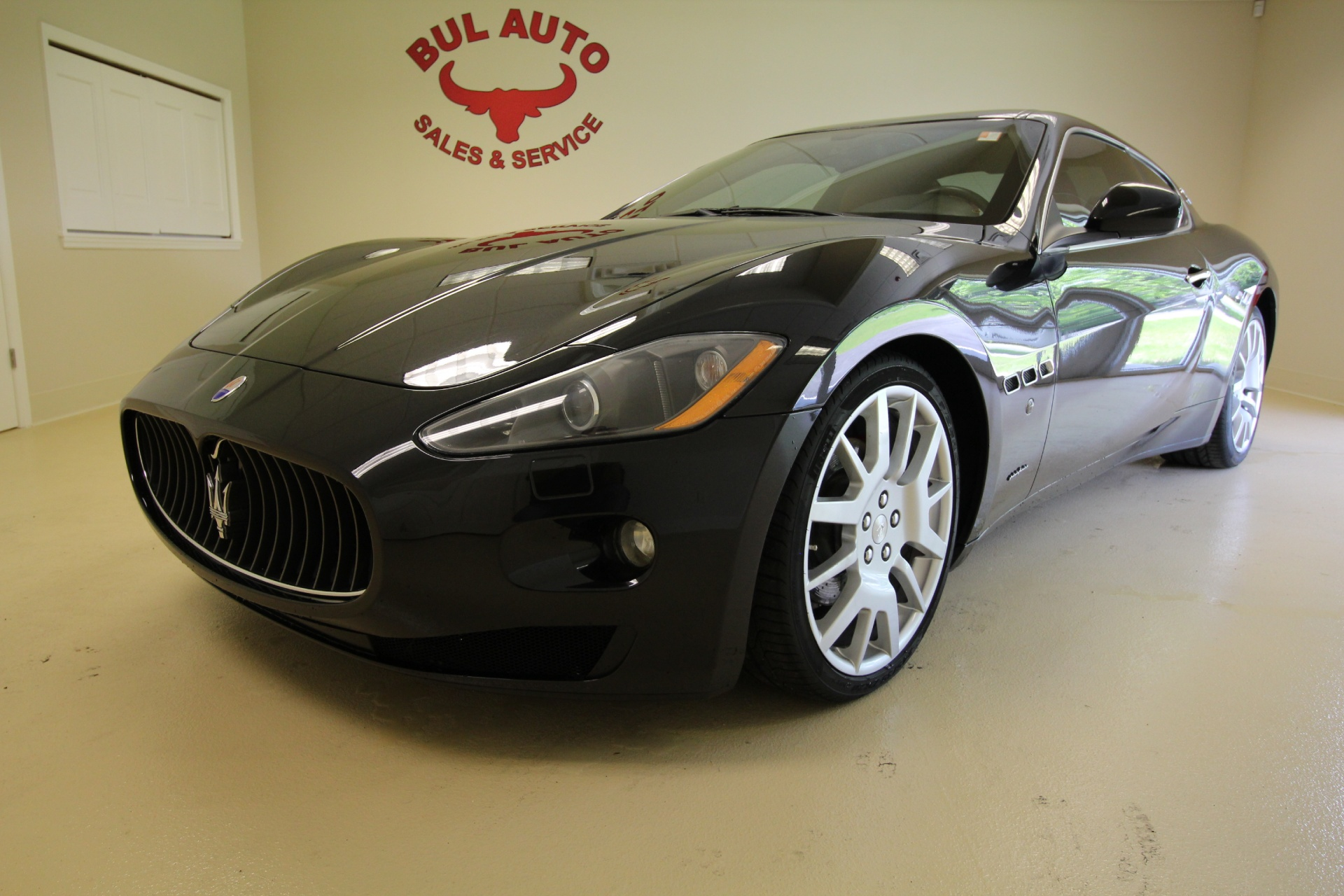 2008 maserati granturismo coupe stock 16324 for sale. Black Bedroom Furniture Sets. Home Design Ideas
