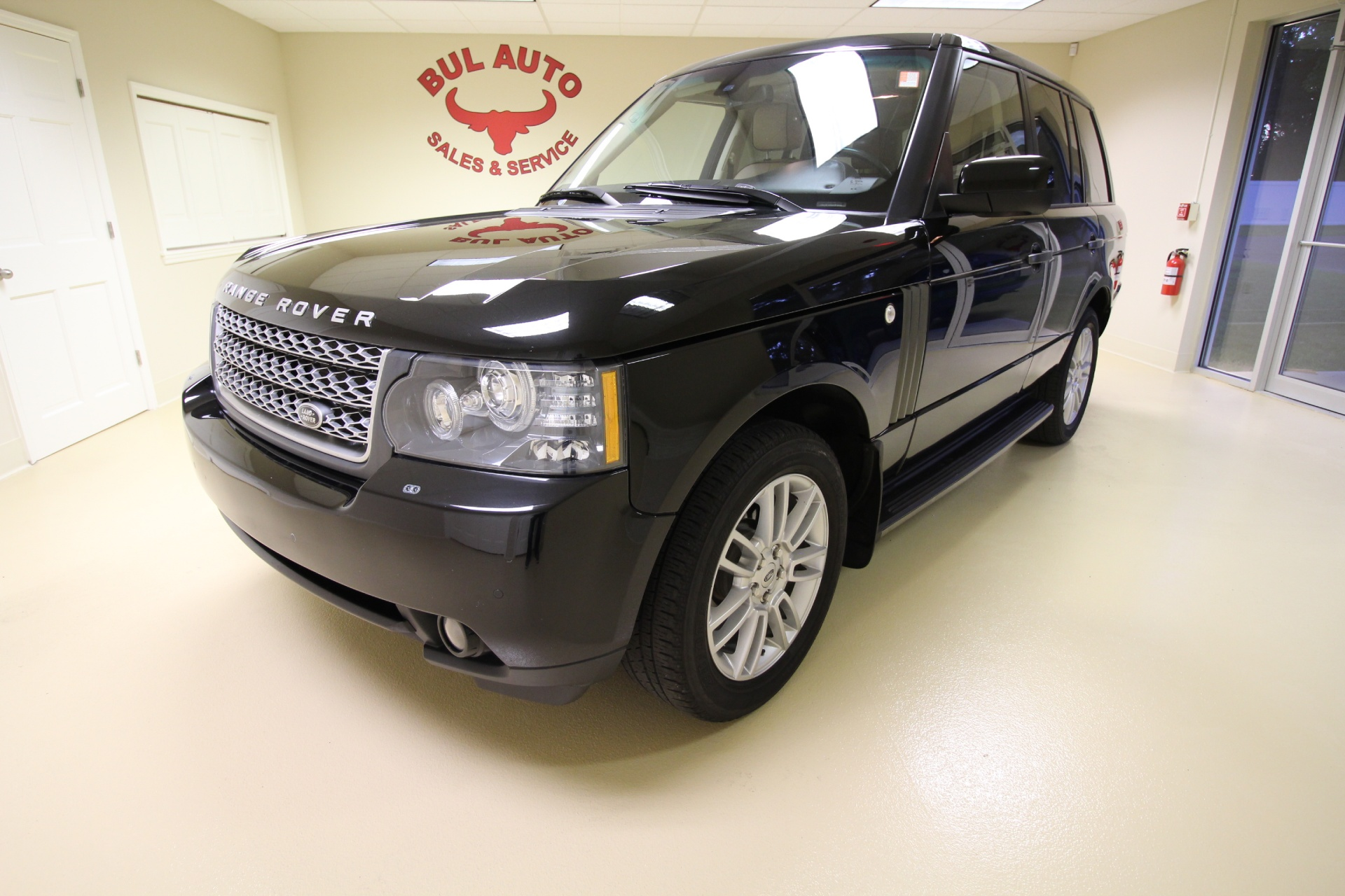 2010 land rover range rover hse stock 16141 for sale. Black Bedroom Furniture Sets. Home Design Ideas