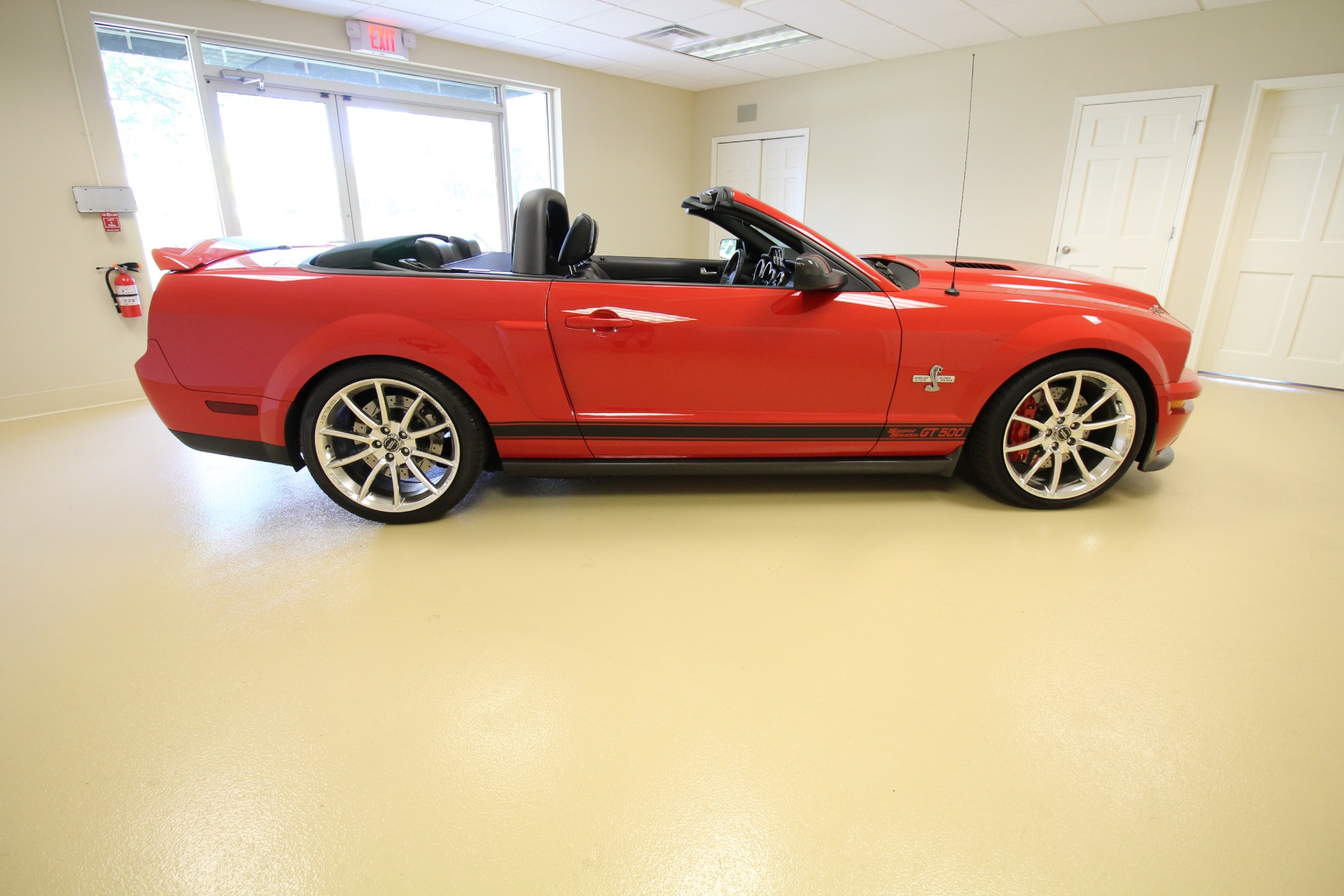 2007 ford shelby gt500 convertible stock 16177 for sale near